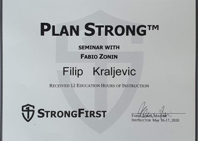 Filip Kraljević Plan Strong